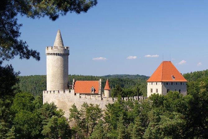 Haunted castle Houska and Kokorin castle