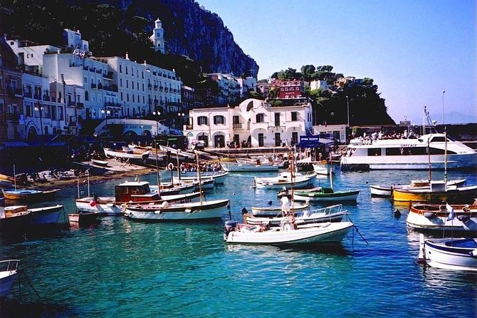 Luxury Day trip to Capri from Rome