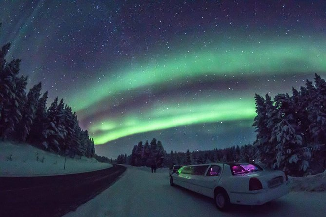 A7) Aurora Hunting by Limousine (3h) | Inari, Finland Activities ...
