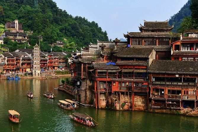 5 Days Zhangjiajie Mountains&Fenghuang Ancient Town Tour(5-star Hotel)