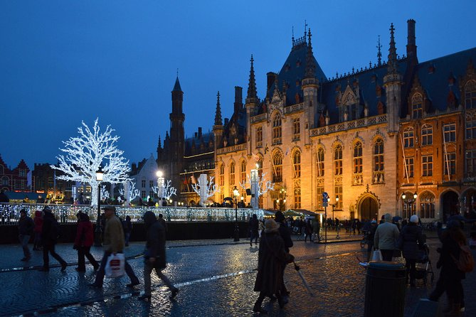 The Magic of Bruges at Night Private Tour