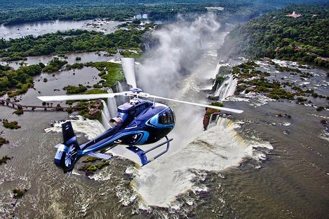 Enjoy the breathtaking views of the falls!