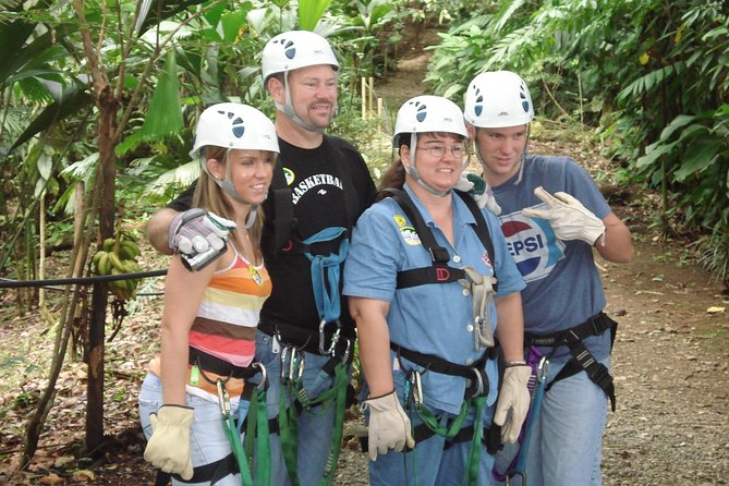 Zipline Canopy Tour & Banana Plantation. Shore Excursion from Puerto Limon photo 4