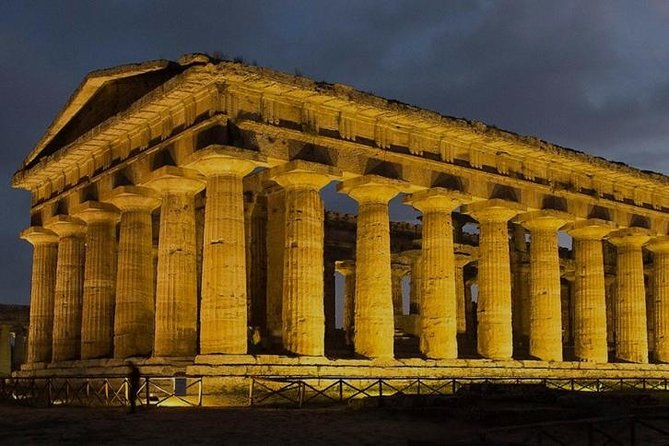 Paestum experience with lunch from Salerno Port