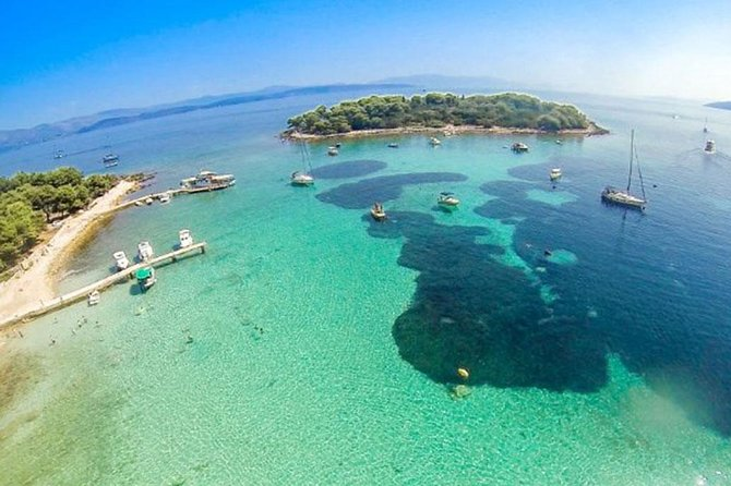 Half day Blue lagoon and Island Solta private tour from Trogir and Split