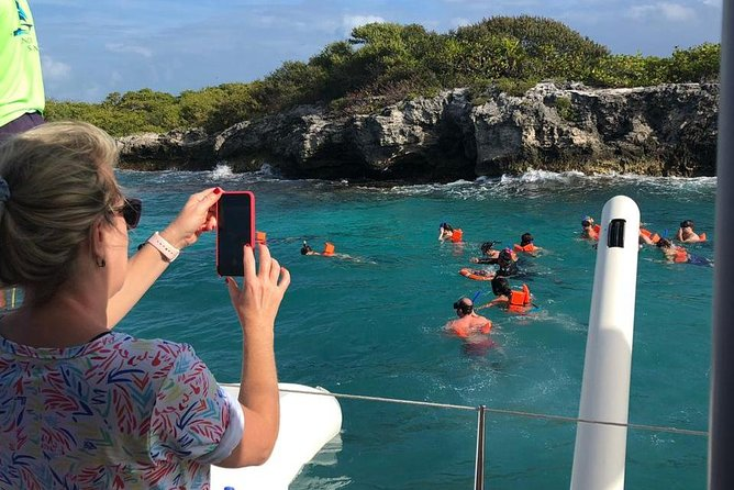Top Tour Sail To Isla Mujeres By Catamaran Buffet And Drinks Included