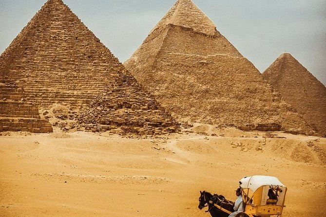 Full day tour from Cairo : giza pyramids , Sphinx , Memphis city ,and Sakkara photo 10