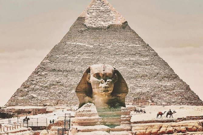Full day tour from Cairo : giza pyramids , Sphinx , Memphis city ,and Sakkara photo 3