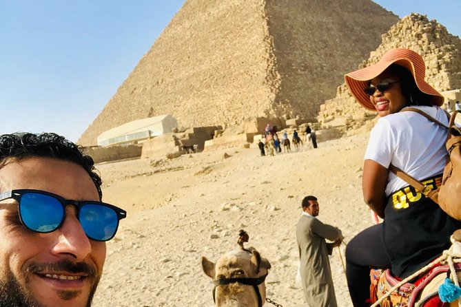Full day tour from Cairo : giza pyramids , Sphinx , Memphis city ,and Sakkara photo 12