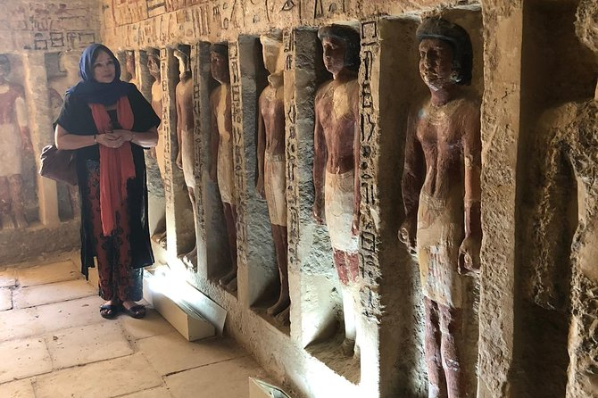Full day tour from Cairo : giza pyramids , Sphinx , Memphis city ,and Sakkara photo 8