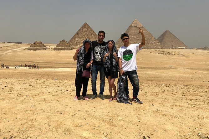 Full day tour from Cairo : giza pyramids , Sphinx , Memphis city ,and Sakkara photo 14
