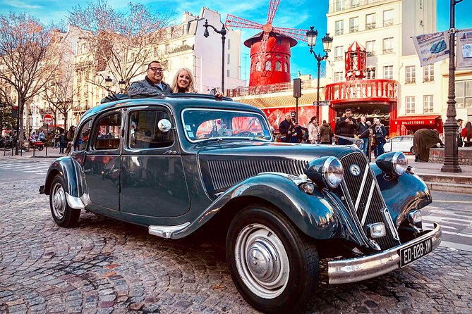 Private Tour around Paris in a Vintage Car