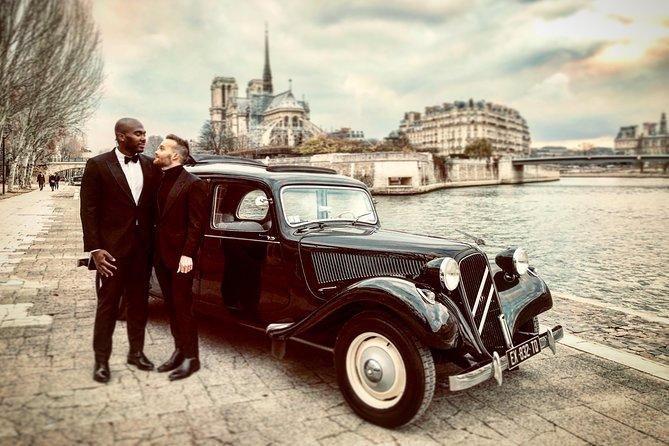Private Tour around Paris in a Vintage Car