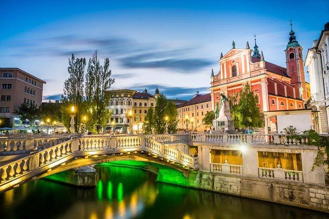 Private Christmas city tour of Ljubljana from Ljubljana