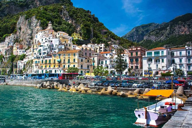 Amalfi & Positano By Boat - Full Day Tour with departure from Sorrento