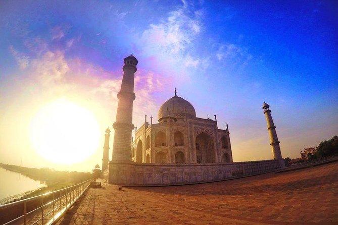Taj Mahal Sunrise Private Day Tour from Delhi