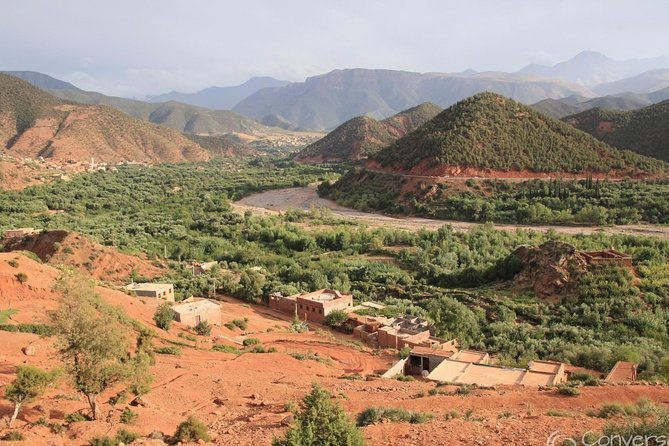 Atlas Mountains and 5 valleys from Marrakech including berber lunch