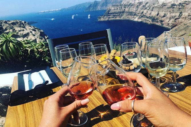 The Art of Wine - A Real taste of Santorini