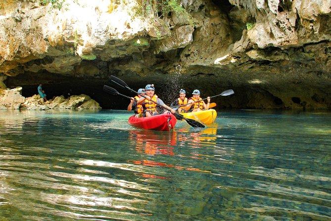 Kayaking the Crystal Cave & Beach Club Upgrade