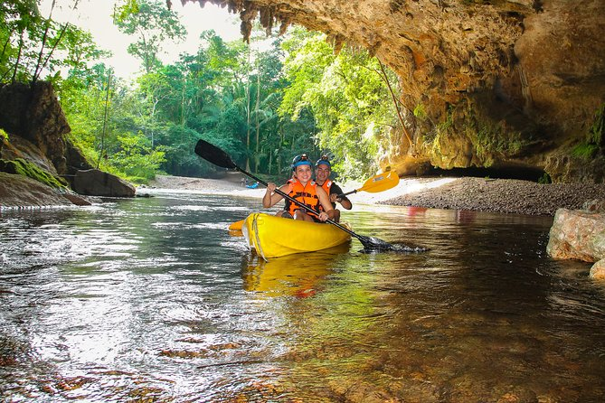 Kayaking through the Crystal Caves