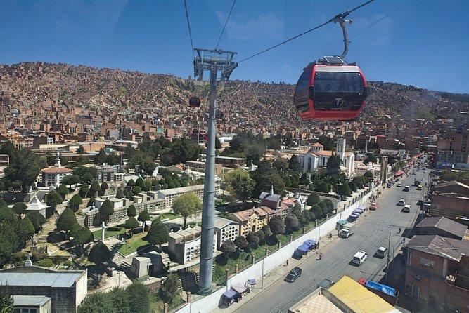 Ride the amazing Teleferico (cable car)
