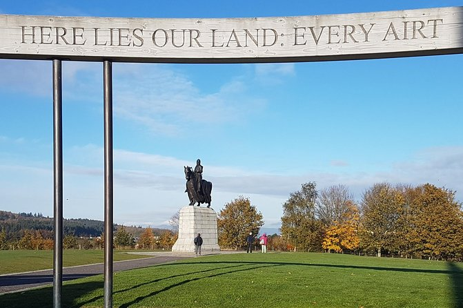 Bannockburn Battlefield (Outside Tour operated by Freedom Tour Today)