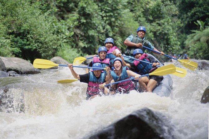 Bali White Water Rafting: Ubud Best River Rafting Adventure
