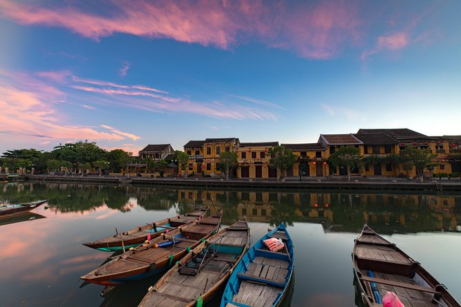Big group: Full day Visit Marble Mountain and Hoi An Ancient Town
