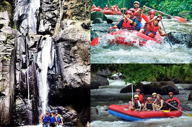 All inclusive : Ayung River White Water Rafting Lunch and Private Transport