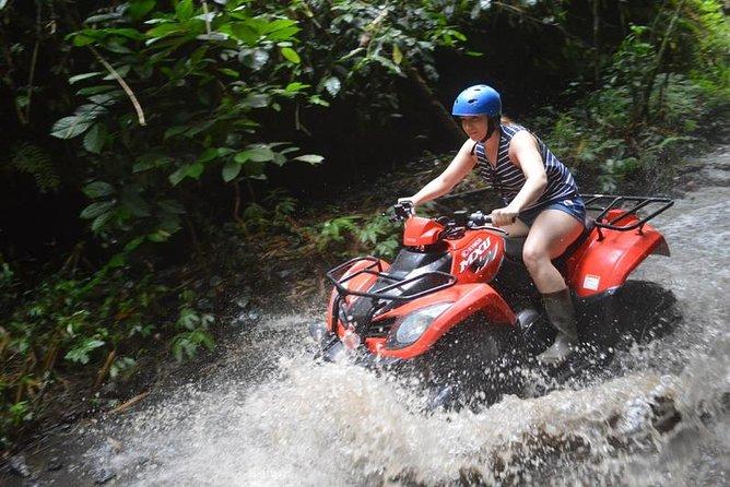 Bali Quad Bike and White Water Rafting