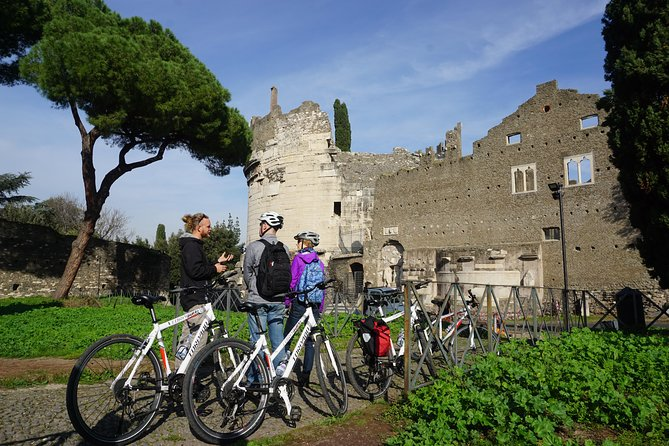 Rome Appian Way Bike Small Group Tour
