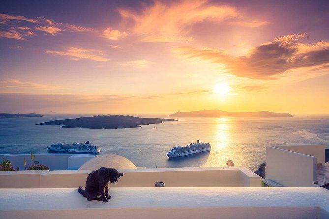 Santorini private sightseeing tour