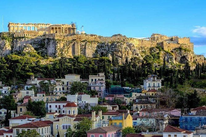 Half Day Historical Athens City Private Taxi Service Tour