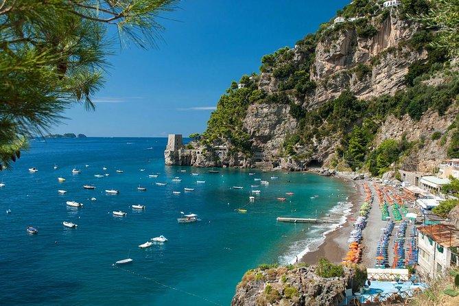 Capri Positano Private Boat Tour From Sorrento