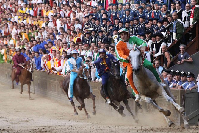 Siena and the Palio. The most famous horse race in the world.