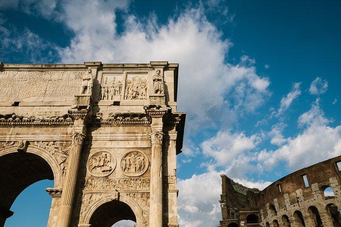 from Civitavecchia Colosseum and Ancient Roman forum direct entry