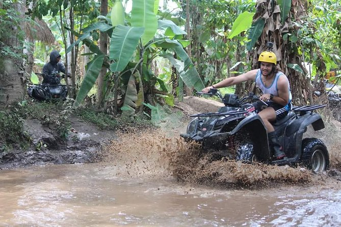 Ubud Dragon Cave ATV Quad Bike - Ayung River Rafting - Waterfall - Free WiFi