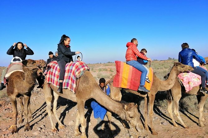 Desret Agafay and Atlas Mountains & Camel ride Day Trip From Marrakech