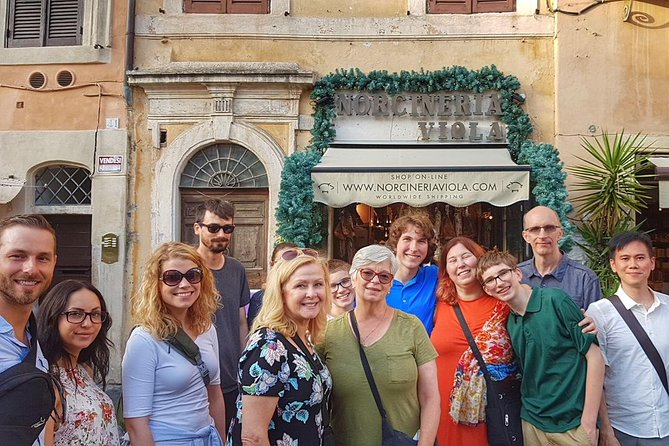 Jewish Ghetto and Campo Dè Fiori By Night Food, Wine and Sightseeing Tour