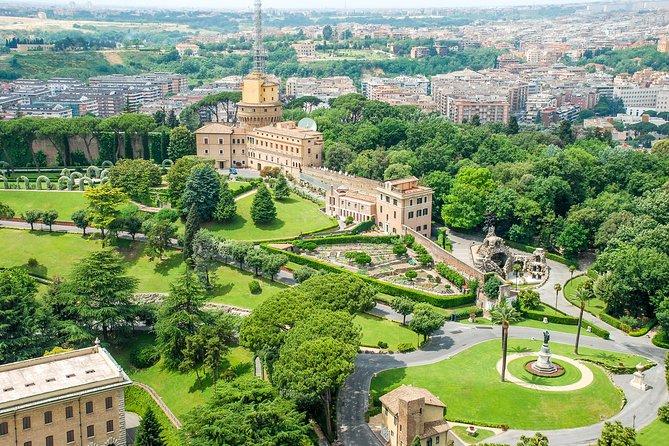 Vatican Gardens and Vatican Museums Exclusive VIP Group WalkingTour