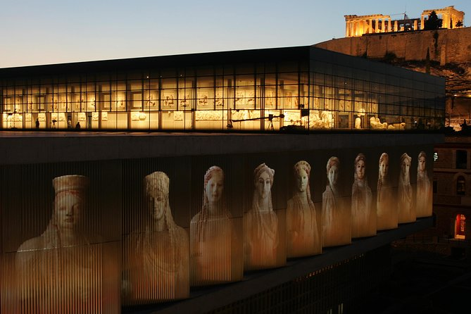 Acropolis Museum Night tour on Fridays with optional dinner