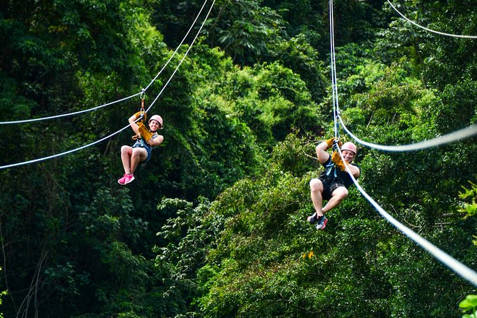 Zip Line Adventure from Punta Cana (Half Day)