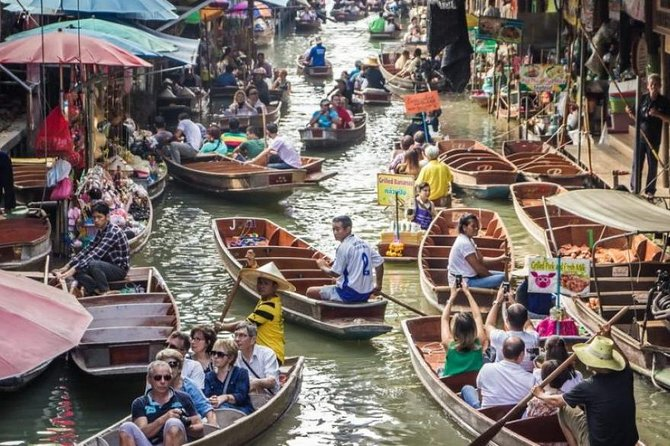 Damnoen Saduak Floating Market and Risky Market small group tour from Bangkok photo 6