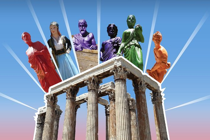 Temple of Olympian Zeus: Pre-booked e-Ticket with Audio Tour on Your Phone