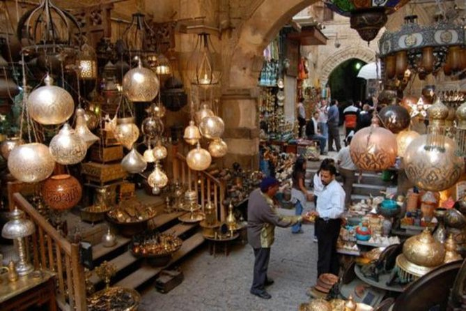 Old Cairo and Khan El Khalili bazaar