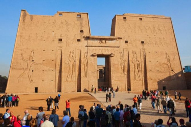 Day tour to Edfu, Kom Ombo and Aswan from Luxor