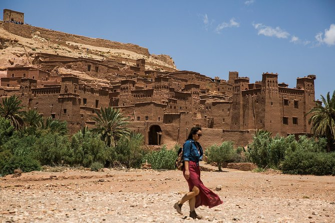 Morocco desert tour from Marrakech to Merzouga sahara and kasbah 3 days