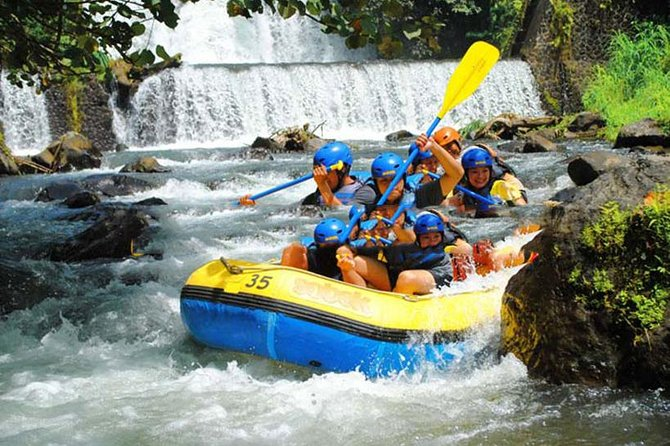 Amazing Rafting adventure on the Telaga Waja white water Bali with Breakfast