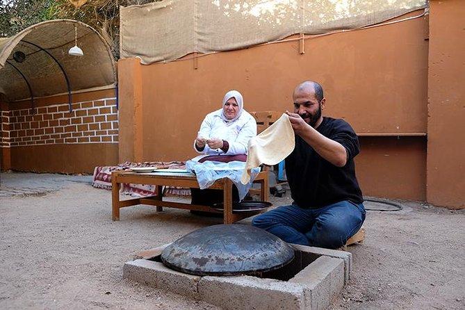 Pan árabe y galletas de Aqabawi horneando experiencia