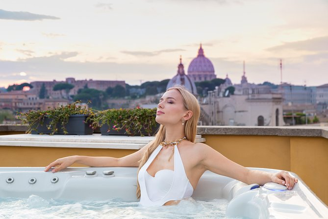 Private Jacuzzi with Amazing View of Rome on rooftop!!